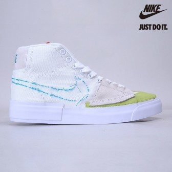 Nike Blazer Mid Edge SB 'Orange Aqua'