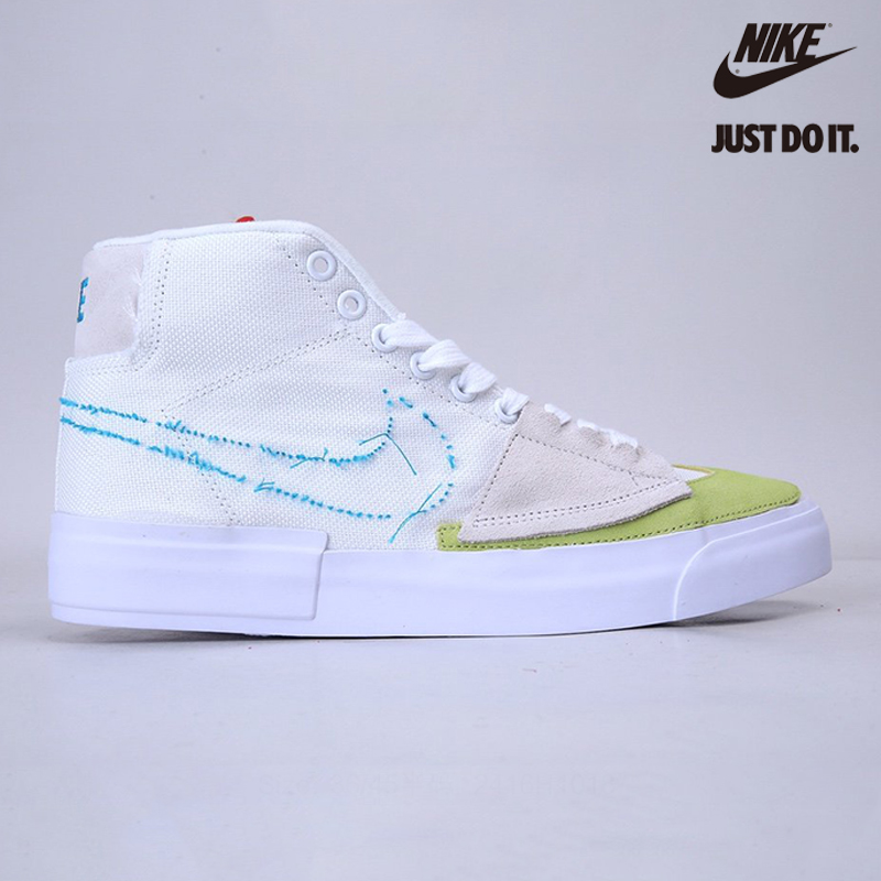 Nike Blazer Mid Edge SB 'Orange Aqua' - CI3833-101