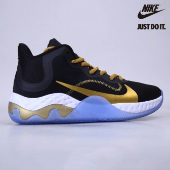 Nike Renew Elevate Black/Metallic Gold-White