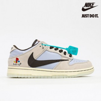Nike Dunk Low Travis Scott x Playstation Brown Grey White Light Blue