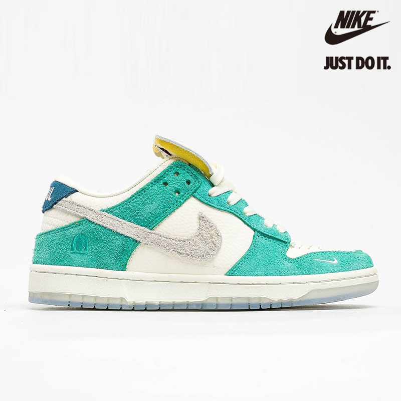 Kasina x Nike Dunk Low 'Road Sign' Neptune Green - CZ6501-101