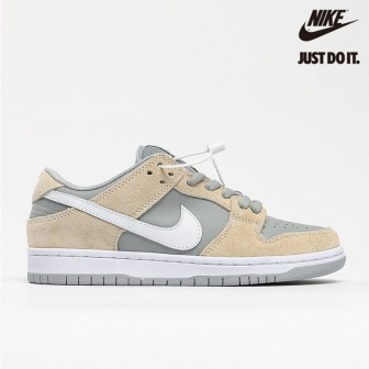 Nike Sb Dunk Low Trd White Summit Wolf Grey