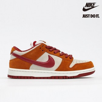 Nike SB Dunk Low Pro 'Dark Russet' Cedar White Summit