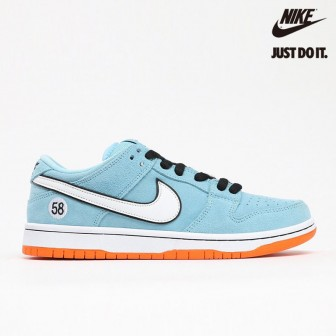 Nike Dunk Low Pro SB 'Gulf' Club 58 Chill Safety Orange Black White