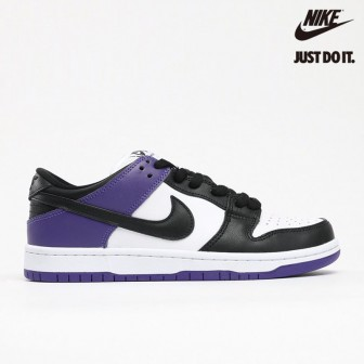 Nike SB Dunk Low ''Court Purple' 'White-Court Purple-Black