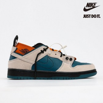 EJDER and Ziv Lee x Nike SB Dunk Low Custom Blue