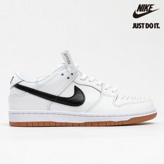 Nike Dunk Low Pro Iso Sb Orange Label Light White Black Gum Brown