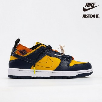 "EJDER and Ziv Lee x Nike SB Dunk Low Custom""Michigan"""