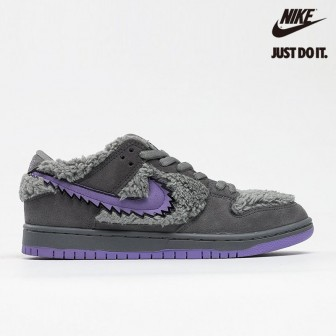 Grateful Dead x Nike SB Dunk Low Grey/Purple/Bear