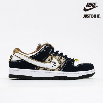 Nike SB Dunk Low Dior Black Khaki White