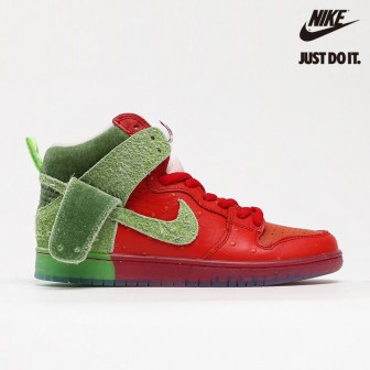 "New Nike SB Dunk High ""Strawberry Cough"""
