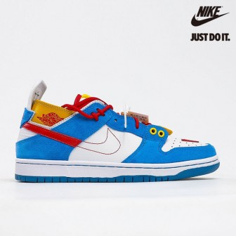 EJDER and Ziv Lee x Nike SB Dunk Low Custom 'Doraemo'