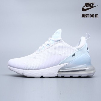 Nike Air Max 270 White Metallic Summit White
