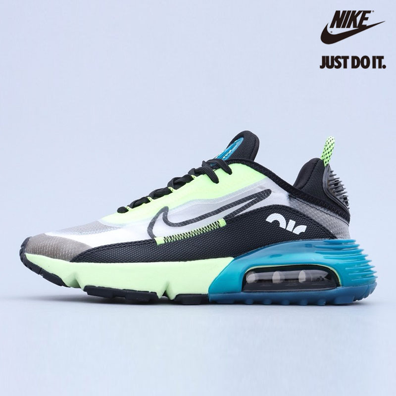 Nike Air Max 2090 White Black Volt Valerian Blue