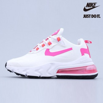 Nike Air Max 270 React White Fire Pink