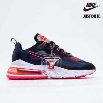 Nike Air Max 270 React SE 'Midnight Navy Crimson' Pink Black
