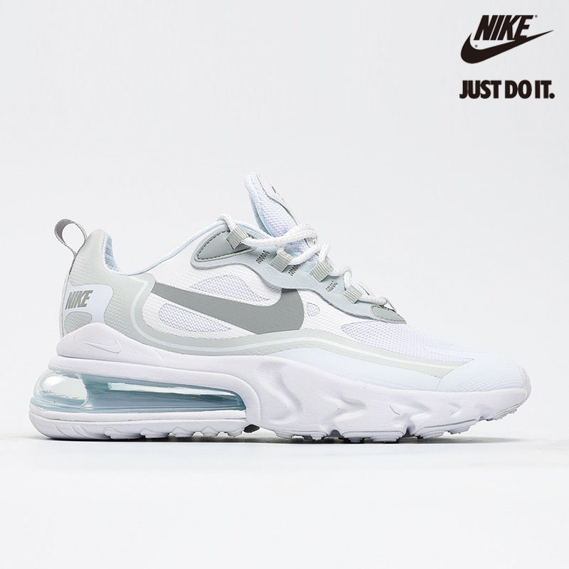Nike Air Max 270 React 'White Light Smoke Grey' Pure Platinum - CV1632-100