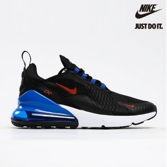 Nike Air Max 270 'Black Hyper Royal'