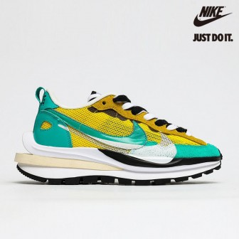 Sacai x Nike Regasus Vaporrly SP Yellow Green Black White