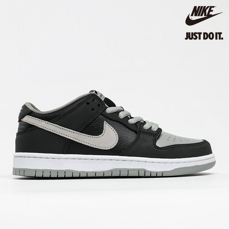 Nike SB Dunk Low 'J-PACK SHADOW' Black Medium Grey White - BQ6817-007